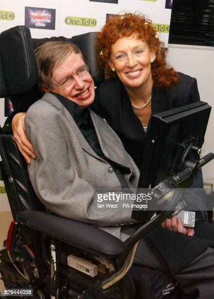 Stephen Hawking and wife Elaine Mason