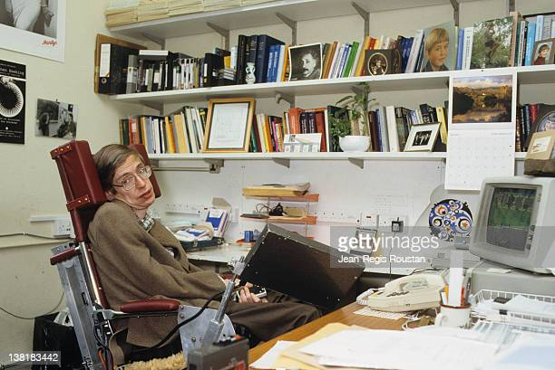 Stephen Hawking British mathematician and scientist 1989