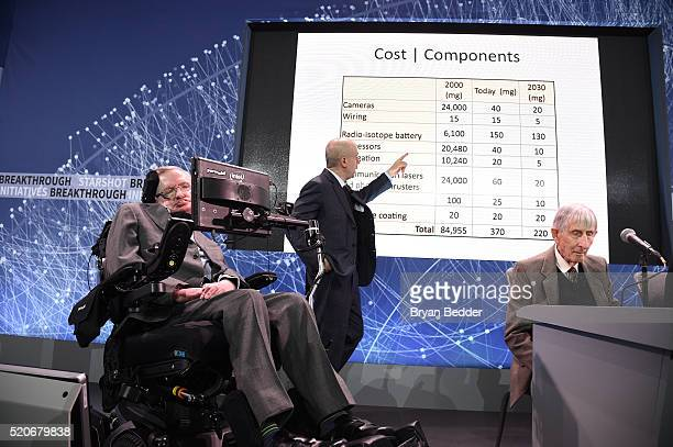 Stephen Hawking CH CBE FRS Dennis Stanton Avery and Sally Tsui WongAvery Director of Research University of Cambridge and Yuri Milner Breakthrough...