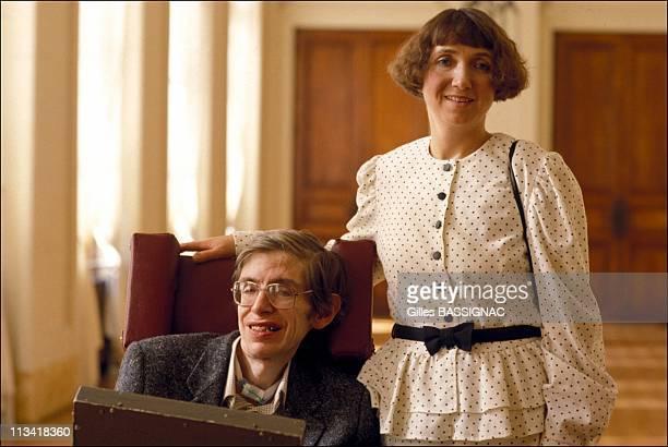 Stephen Hawking In Paris On March 03thIn ParisFrance