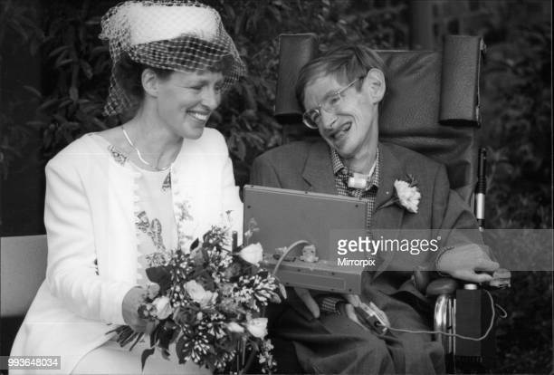 Stephen Hawking 's wedding his marriage to Elaine Mason Cambridge September 1995