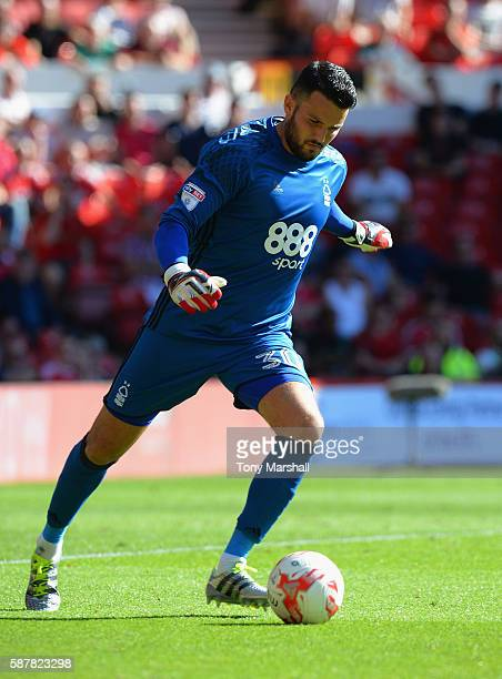 Stephen Henderson of Nottingham Forest during the Sky Bet Championship match between Nottingham Forest and Burton Albion at City Ground on August 6...