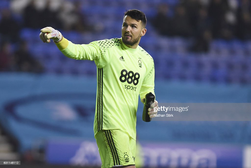 Stephen Henderson of Nottingham Forest looks on during the Emirates FA Cup Third Round match between Wigan Athletic and Nottingham Forest at the DW Stadium on January 7, 2017 in Wigan, England (Photo by Nathan Stirk/Getty Images).