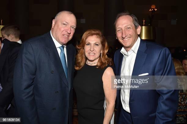 Stephen Herman Debra Millman and Adam Derman attend the 2018 Beit Ruth Gala at Gotham Hall on April 26 2018 in New York City