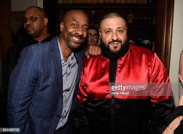 Stephen Hill and DJ Khaled attend Citi Presents 2017 Billboard Power 100 Celebration at Cecconi's Restaurant on February 9 2017 in Los Angeles...