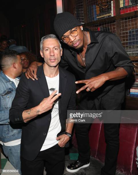 Stephen Hill and DJ Ruckus attend The 8th Annual Mark Pitts Bystorm Ent Post BET Awards Party on June 24 2018 in Los Angeles California