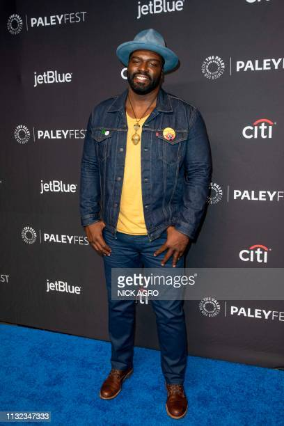 Stephen Hill arrives for the Paley Center for Media's 2019 PaleyFest 'Hawaii Five0' 'MacGyver' And 'Magnum PI' March 23 2019 at the Dolby Theater in...