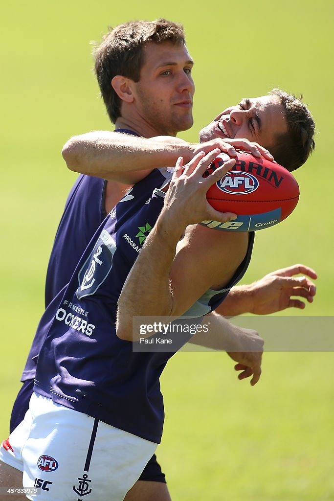 Fremantle Dockers Training Session