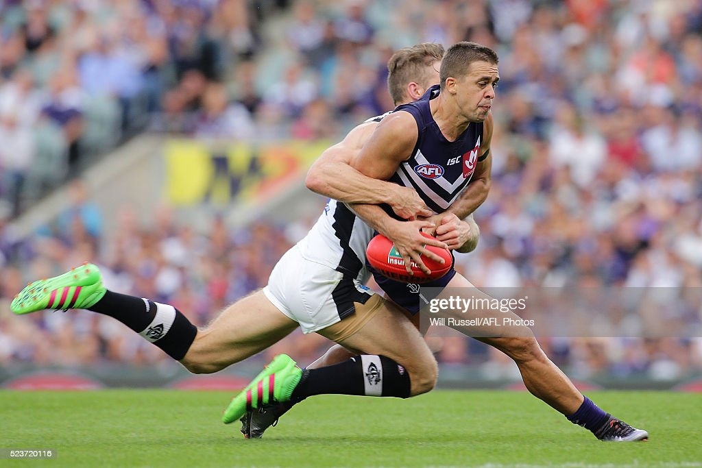 AFL Rd 5 - Fremantle v Carlton