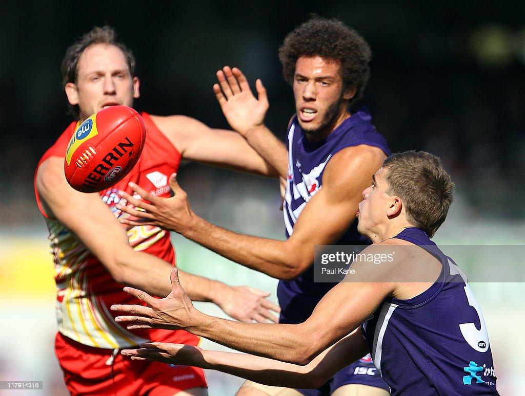 AFL Rd 15 - Fremantle v Gold Coast