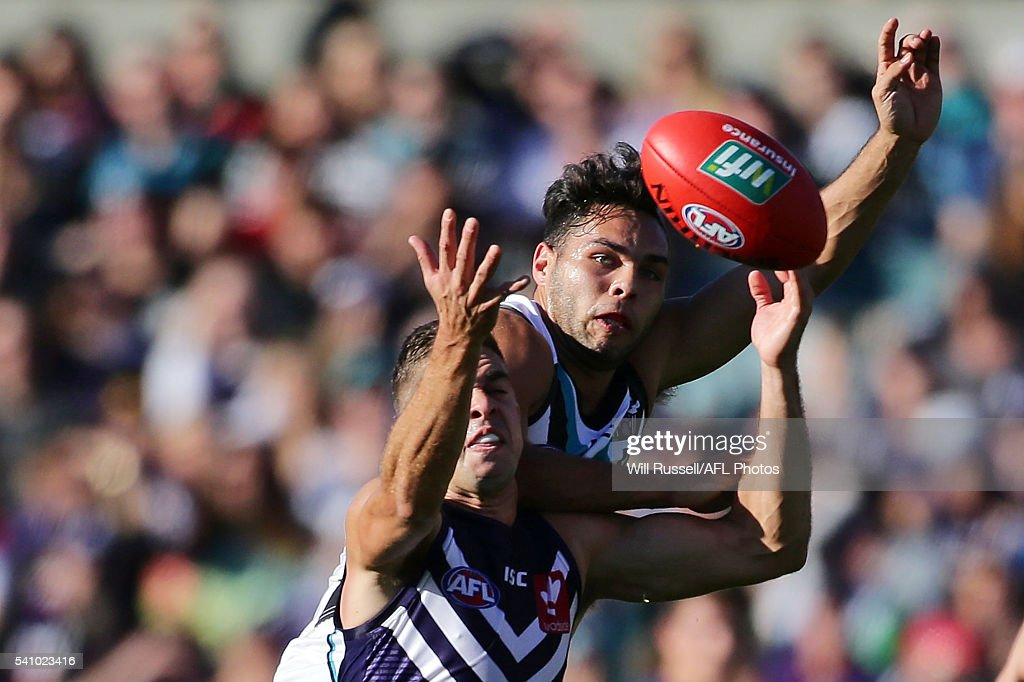 AFL Rd 13 - Fremantle v Port Adelaide