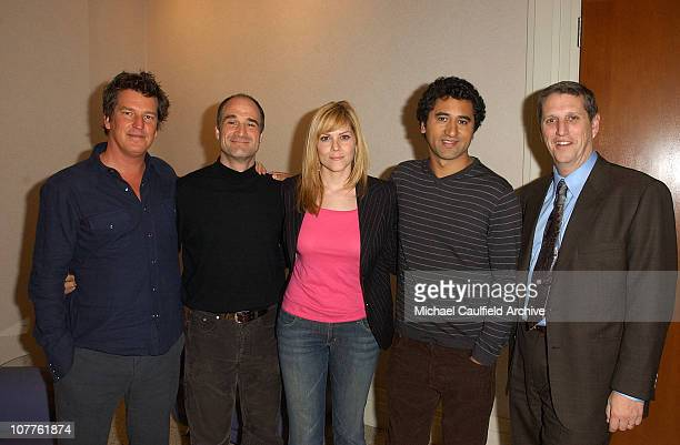 Stephen Hopkins Executive Producer Elias Koteas Mary MCCormack Cliff Curtis and Doug Herzog President of USA Networks