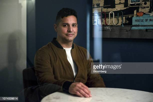 Stephen Huerta chief executive officer of Workify sits for a photograph in Austin Texas US on Thursday Dec 20 2018 Apple Inc announced this month...