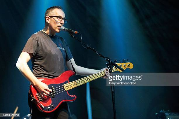 Stephen Immerwahr of Codeine performs on stage during ATP Festival at Alexandra Palace on May 26 2012 in London United Kingdom