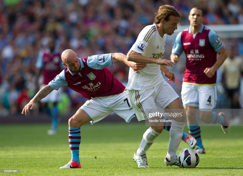 Aston Villa v Swansea City - Premier League