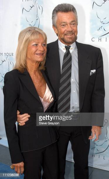 Stephen J Cannell and Wife Marcia during A Night of Comedy to Benefit I AM YOUR CHILD Foundation at Hollywood Highland in Los Angeles California...