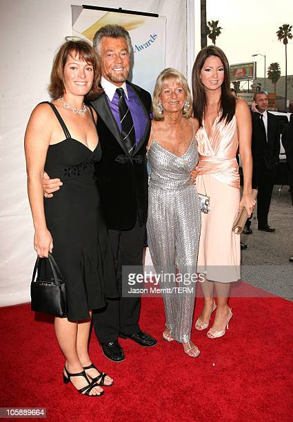 Stephen J Cannell daughter Tawnia Marcia Finch and guest