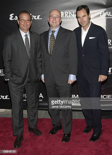 Stephen Jacoby Associate Publisher of Esquire Magazine David Granger Esquire Magazine EditorinChief and Kevin O'Malley Publisher of Esquire Magazine