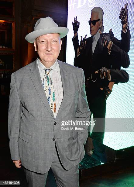 Stephen Jones attends The Business of Fashion celebrating the #BOF500 the people shaping the global fashion industry at The London EDITION on...