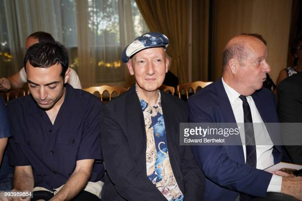 Stephen Jones attends the Ulyana Sergeenko Haute Couture Fall Winter 2018/2019 show as part of Paris Fashion Week on July 3 2018 in Paris France