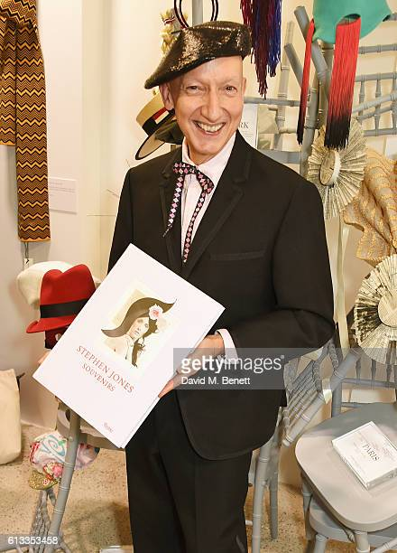 3e05c589 Stephen Jones signs copies of his book Stephen Jones Souvenirs at Dover  Street Market on October