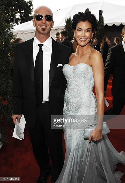 Stephen Kay and Teri Hatcher 12864_KM_0374JPG during TNT/TBS Broadcasts 13th Annual Screen Actors Guild Awards Red Carpet at Shrine Auditorium in Los...