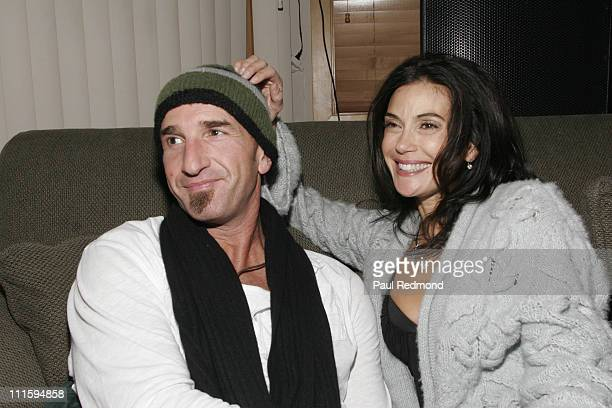 Stephen Kay and Teri Hatcher during 2007 Park City The Green House Presented by MaxAzria Day 1 at Green House in Park City Utah United States