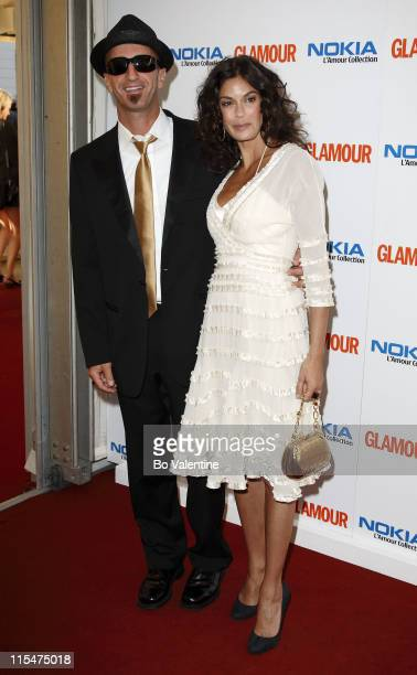 Stephen Kay and Teri Hatcher during 4th Annual Glamour Women Of The Year Awards Arrivals at Berkeley Square Gardens in London Great Britain