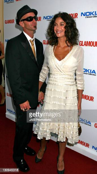 Stephen Kay and Teri Hatcher during 4th Annual Glamour Women Of The Year Awards Press Room at Berkeley Square Gardens in London Great Britain