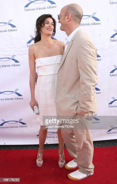 Stephen Kay and Teri Hatcher during 6th Annual Comedy For A Cure Hosted by Tuberous Sclerosis Alliance at The Music Box Theatre in Hollywood...