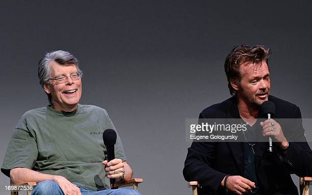 Stephen king it stock photos and pictures getty images stephen king and john mellencamp attend meet the creators at apple store soho on june 3 m4hsunfo