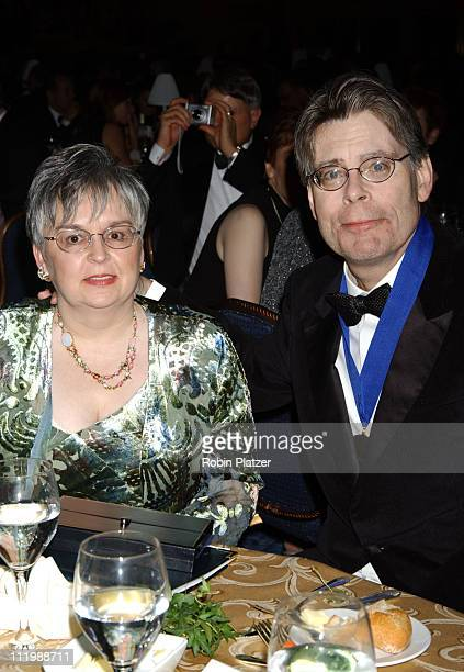 Stephen King and wife Tabitha King during The 54th Annual National Book Awards Ceremony and Benefit Dinner at The Marriott Marquis Hotel in New York...