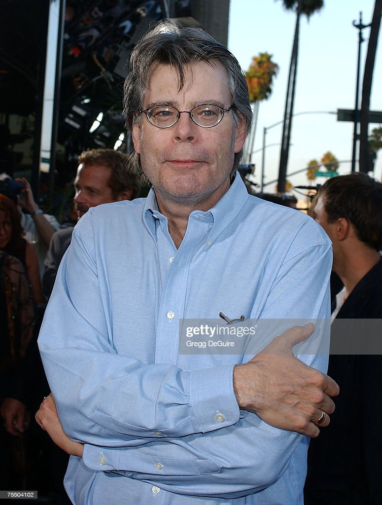 Stephen King at the The Academy in Beverly Hills, California