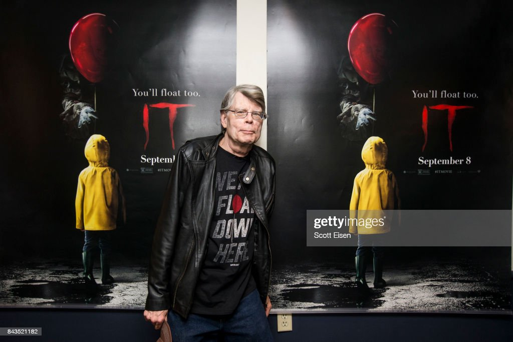 Stephen King attends a special screening of 'IT' at Bangor Mall Cinemas 10 on September 6, 2017 in Bangor, Maine.
