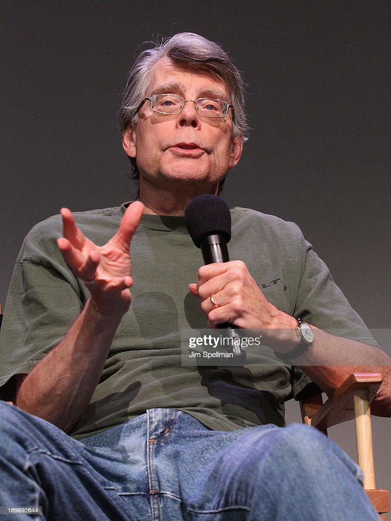 Stephen King attends Meet the Creators at Apple Store Soho on June 3, 2013 in New York City.