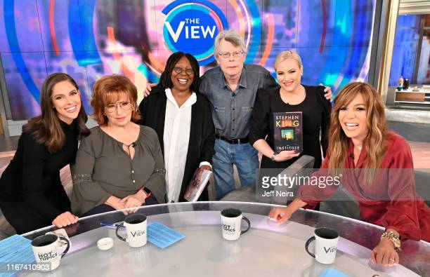 """Stephen King is the guest today, Wednesday, September 11, 2019. """"The View"""" airs Monday-Friday 11am-12pm, ET on ABC. ABBY HUNTSMAN, JOY BEHAR, WHOOPI..."""