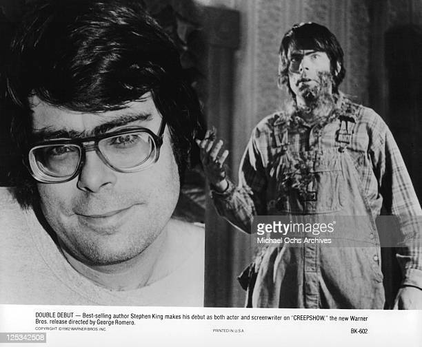 Stephen King makes his debut as both actor and screenwriter for the film 'Creepshow' 1982
