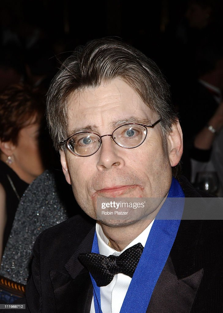 Stephen King, recipient of the National Book Foundation Medal for Distinguished Contribution to American Letters