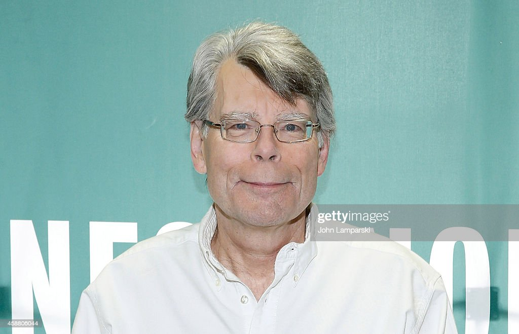 "Stephen King Signs Copies Of His Book ""Revival"""