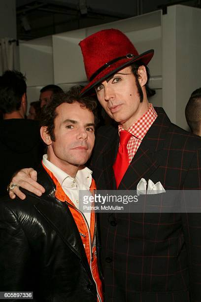 Stephen Knoll and Patrick McDonald attend AMANDA LEPORE DOLL cocktail party at Jeffrey on April 11 2006 in New York City