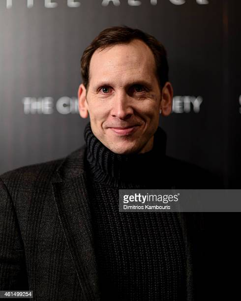 Stephen Kunken attends The Cinema Society with Montblanc and Dom Perignon screening of Sony Pictures Classics' Still Alice at Landmark's Sunshine...