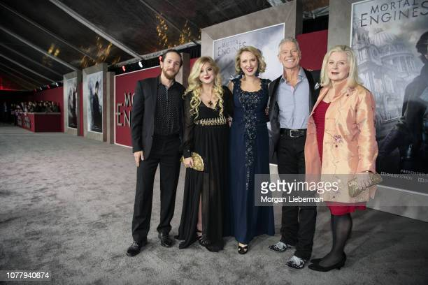 Stephen Lang and family arrive at the premiere Of Universal Pictures' Mortal Engines at Regency Village Theatre on December 5 2018 in Westwood...