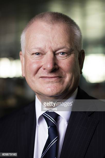Stephen Lansdown, billionaire and co-founder of Hargreaves Lansdown Plc, poses for a photograph following a Bloomberg Television interview in London,...