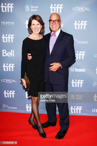 Stephen LeDrew and guest attend the 2018 TIFF Tribute Gala honoring Piers Handling and celebrating women in film at Fairmont Royal York on September...