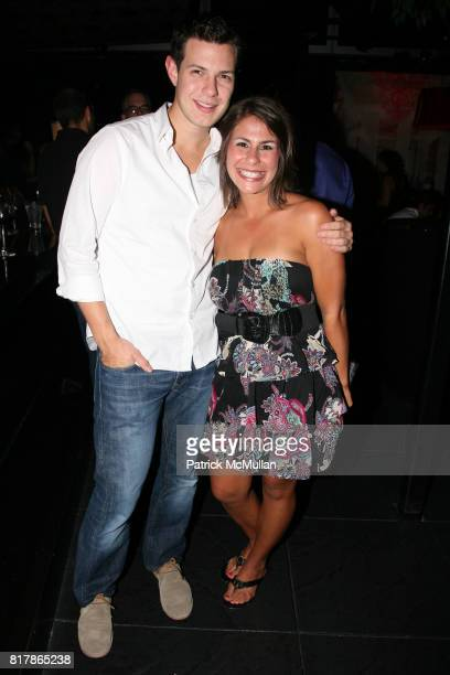 Stephen Long and Andrea Jiminez attend INFA Energy Brokers LLC celebrates the release of BRAD SCHAEFFER's 'Hummel's Cross' at Provocateur on...