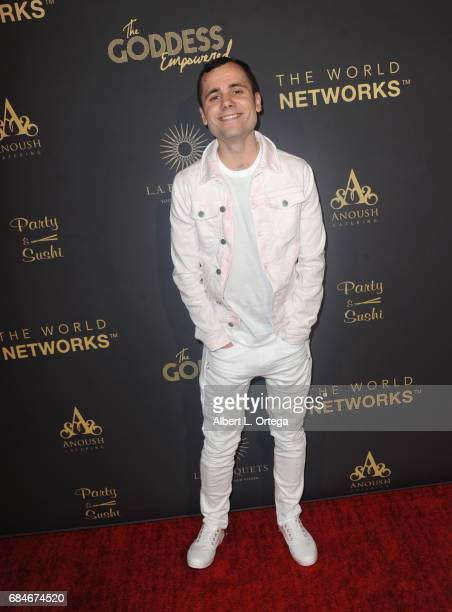 Stephen Lovegrove arrives for The World Networks Presents Launch Of The Goddess Empowered held at Brandview Ballroom on May 17 2017 in Glendale...