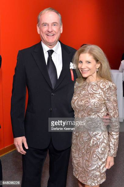 Stephen Maguire and Jennifer Maguire attend 2017 REDCAT Gala Honoring Janet Dreisen Rappaport and John Baldessari on March 4 2017 in Los Angeles...