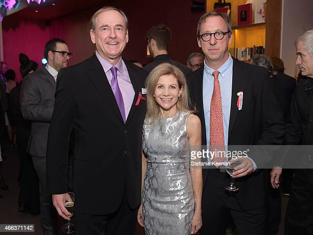 R Stephen Maguire Jennifer Bella Maguire and Tim Disney attend the 2015 REDCAT Gala Honoring Jamie And Michael Lynton And Gabriel Orozco at REDCAT...