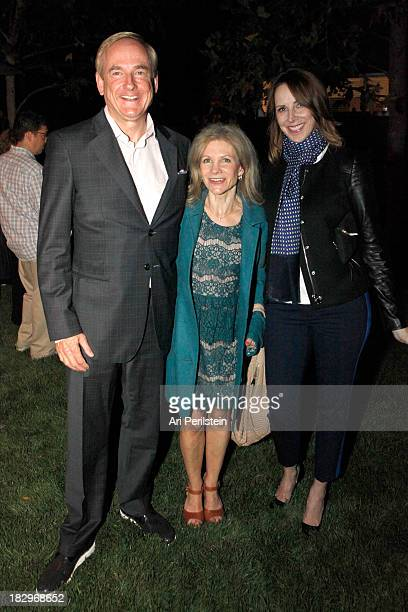 Stephen Maguire Jennifer Maguire and LA Confidential Publisher Alison Miller attend Los Angeles Confidential And Merrrill Lynch Wealth Management...