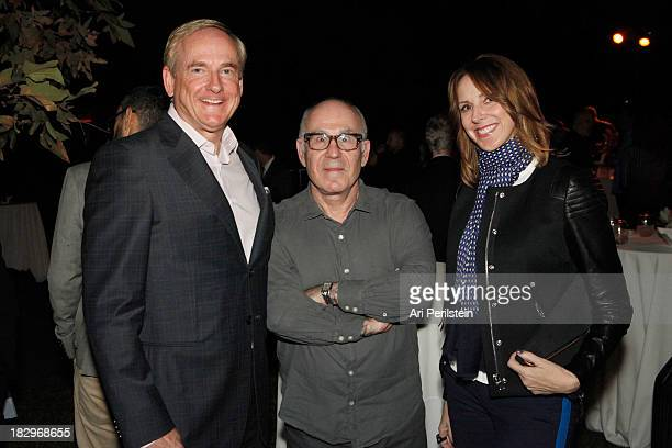 Stephen Maguire Peter Gelles and LA Confidential Publisher Alison Miller attend Los Angeles Confidential And Merrrill Lynch Wealth Management...